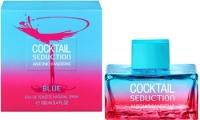 Blue Sedaction Coctial Woman