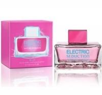 Electric Blue Seduction woman