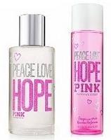 HOPE PINK PEACE LOVE