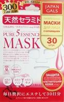 """Japan Gals Маска с натуральными керамидами """"Pure5 Essential"""" 30 шт"""