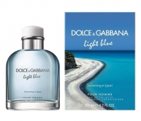 Light Blue Swimming in Lipari